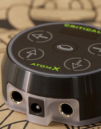 Atom X by Critical - Black