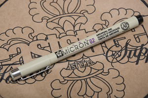Pigma Micron Pen 0.2 mm