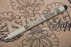 Pigma Micron Pen 0.8 mm