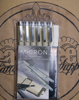 Pigma Micron Pen Set - Fineliners
