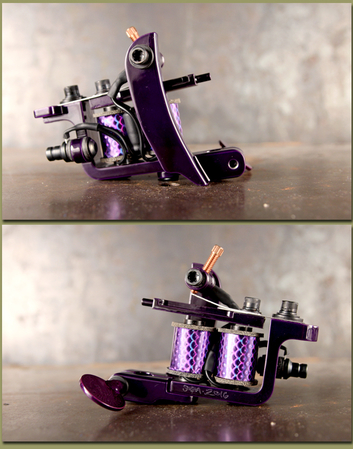 Soba Custom Mini Clipper Liner - Purple