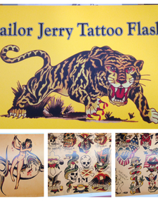 Sailor Jerry Tattoo Flash Volume 3