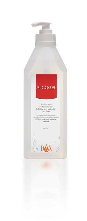 Alcogel 600ml pump