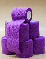 Tube bandage purple 25mm
