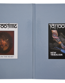 Ed hardys Tattootime Magazine 2 volm set