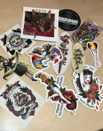 Stickers 13-pack