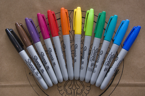 Sharpie pen set