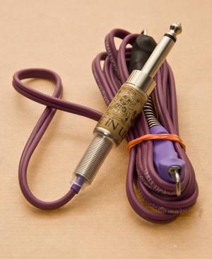 LS Purple Silicone Clipcord