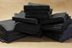 Dental bibs Black 500pcs