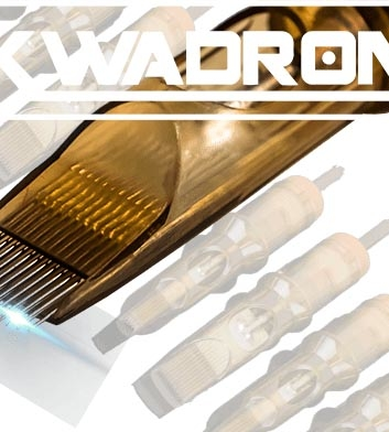 3 Round Shader Kwadron Cartridges 20pcs