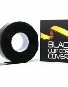 Black Clip cord cover on roll