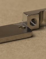 Front Hinged Tube Wise - Nickel