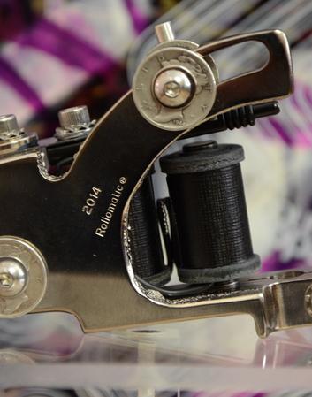 Rollomatic Liner Nickel Frame