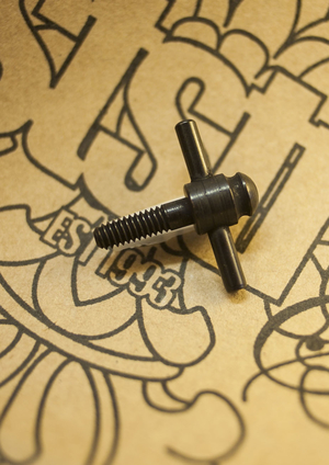 T Tube vice screw - Black