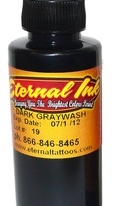 Eternal Dark Gray Wash 4oz