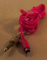 LS Rca straight - Pink